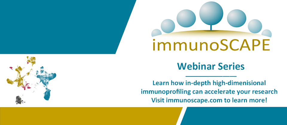 immunoSCAPE Webinar on high-dimensional immunoprofiling
